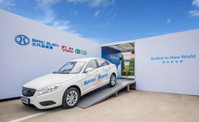 北汽新能源已建成116座换电站,换电版车辆达6000辆