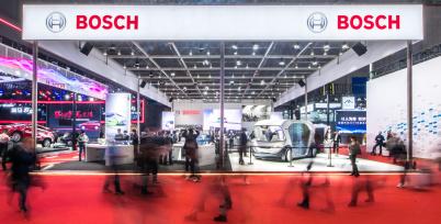 博世:无人驾驶电动巴士概念车在华首次亮相 | 上海车展