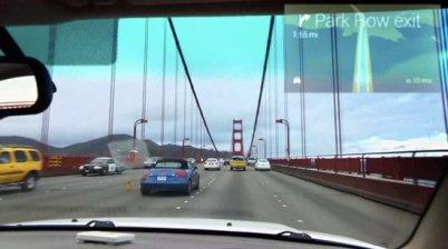 谷歌眼镜可能是汽车厂商的一场噩梦