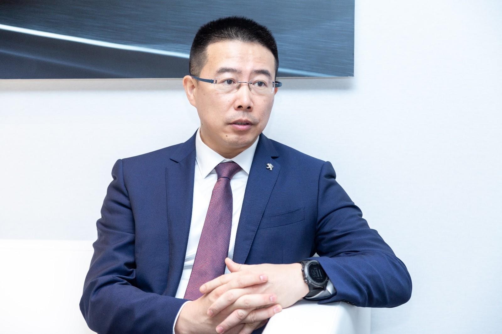 东风标致总经理李广涛