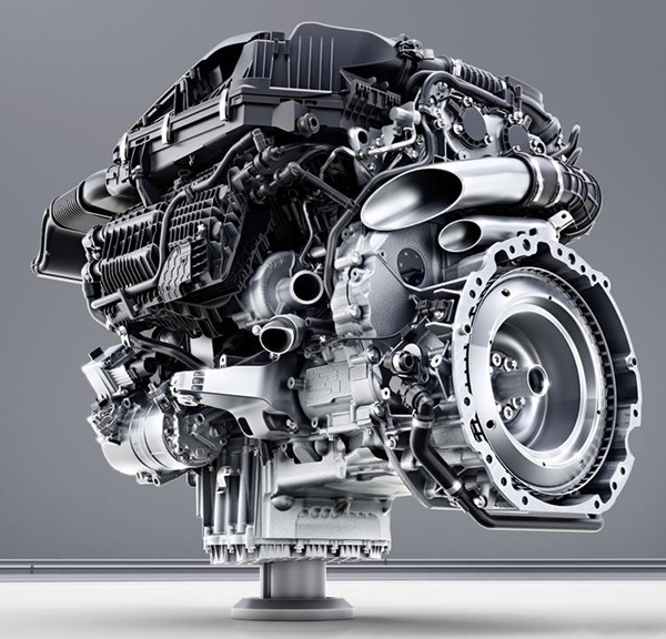 搭載48V智能電機系統的奔馳M256發動機直列6缸發動機