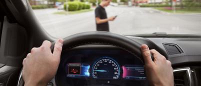 福特推出AEB智能感应制动保护系统