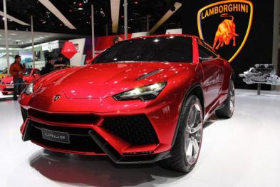 兰博基尼未来SUV和超跑将各占一半
