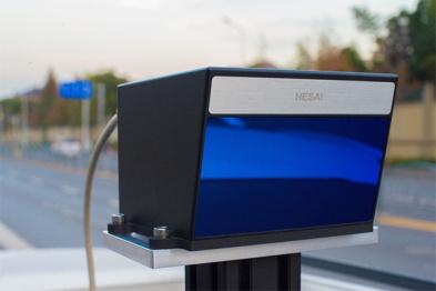 禾賽科技發布新款固態激光雷達原型機