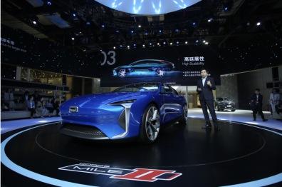 观致:全新电动平台与电动概念车MILE Ⅱ正式亮相|上海车展