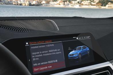宝马开启无线更新服务 7.0操作系统车型可用