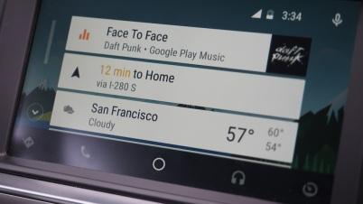 上手把玩Android Auto是一种怎样的体验?