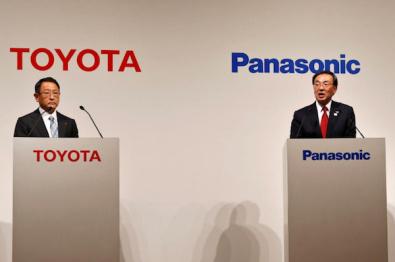 丰田将与松下联合研发电动车方形电池