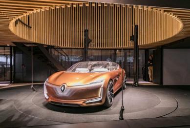 雷诺发布SYMBIOZ概念:和谐相处的房子和汽车
