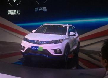 东南汽车首款纯电动SUV DX3 EV发布