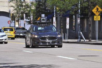 目击者称,Uber在旧金山开始测试无人驾驶汽车了