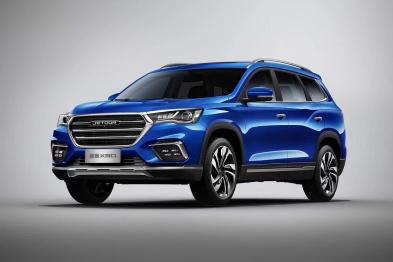 捷途旗下第三款智能大六坐SUV X90即将上市