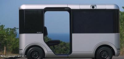 索尼利用5G試驗網絡測試無人駕駛概念車