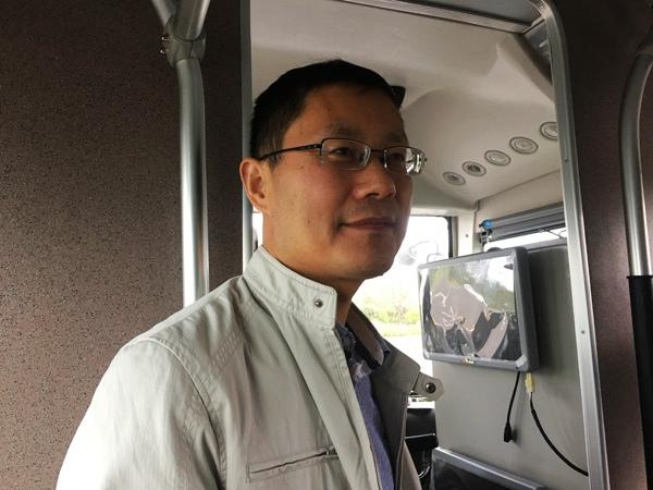 智能汽车技术转化中心总工程师 刘兴键