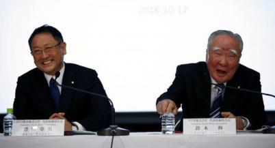 丰田与铃木在新能源汽车等技术领域达成合作关系