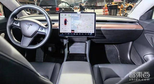 Model 3内饰
