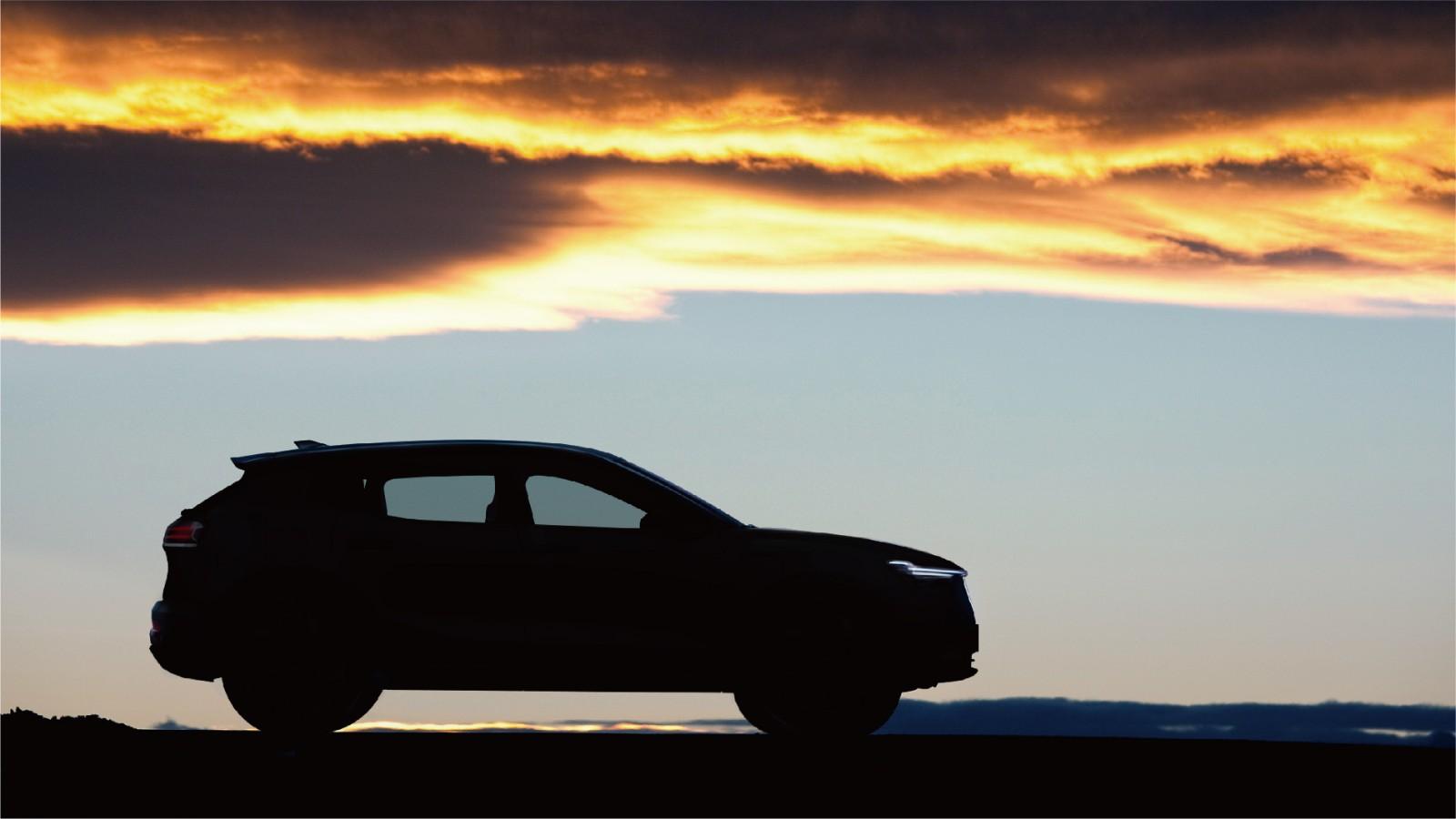 在砂石路况下天际ME7仍能保持良好的空气过滤性和车辆密闭性