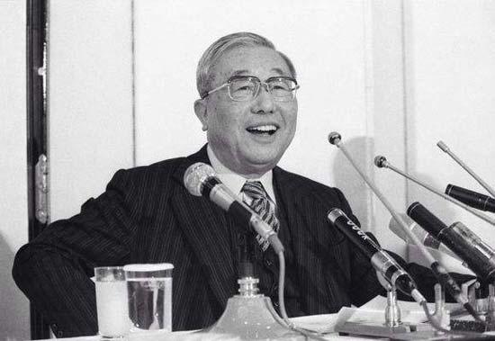 图注:丰田英二先生