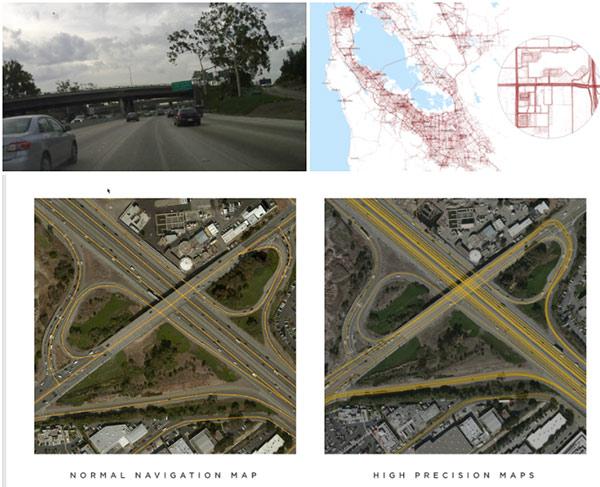 Autopilot1.0发布时,就提到了高精度地图