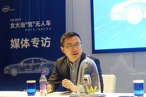 Intel ADG中国区市场总监徐伟杰