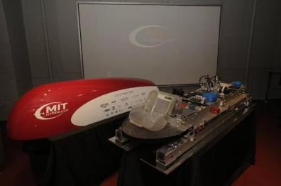MIT展示超级高铁车舱,为Hyperloop原型产品