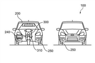 福特申请多模式交通运输设备专利,汽车摩托车二合一