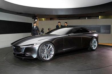 马自达Vision Coupe概念车亮相东京,新设计语言前瞻