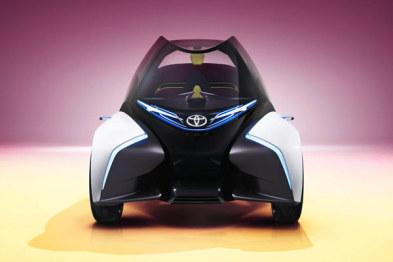 丰田发布i-TRIL概念车:一款日本人给欧洲人设计的交通工具