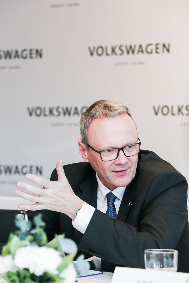 冯思翰将出任大众汽车集团(中国)CEO