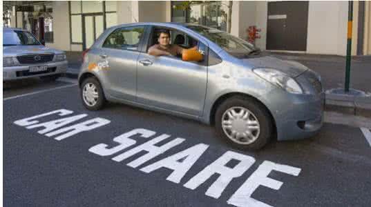 ,共享汽车,汽车经济