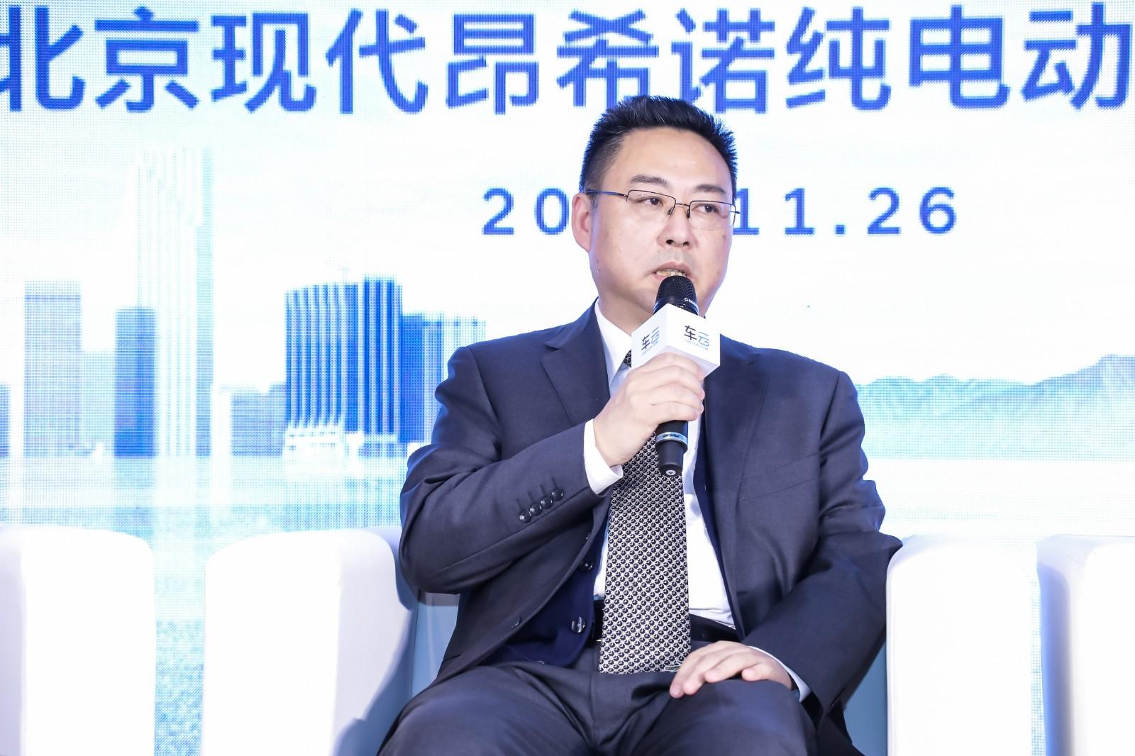 北京现代副总经理 徐爱民