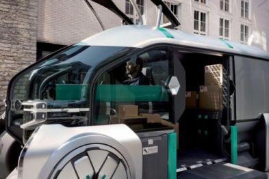 雷诺公布EZ-Pro概念车,展望城市包裹递送的未来