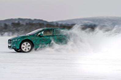 捷豹I-Pace电动车将亮相日内瓦,45分钟充电80%