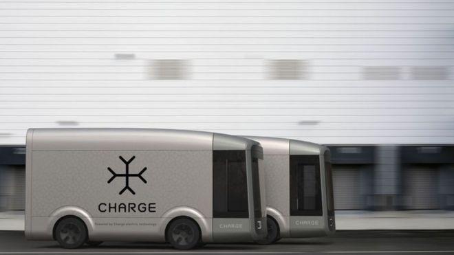 这辆四小时打造的自动驾驶货车要在英国上路了