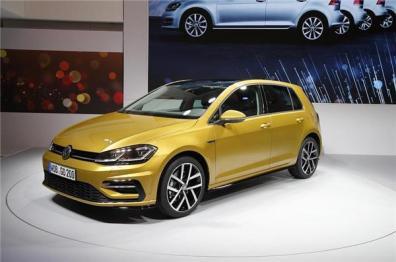 大众高尔夫改款车型官图发布,将配1.5T新款发动机