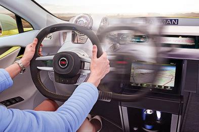 TRW智能方向盘问世:有移?#26410;?#27861;在身,自动驾驶加持