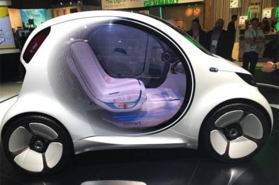 疾驰无人驾驶汽车可经过手机警能控制