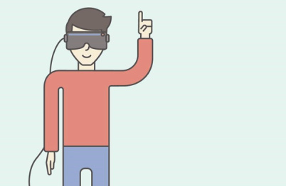 奥迪虚拟眼镜试驾体验