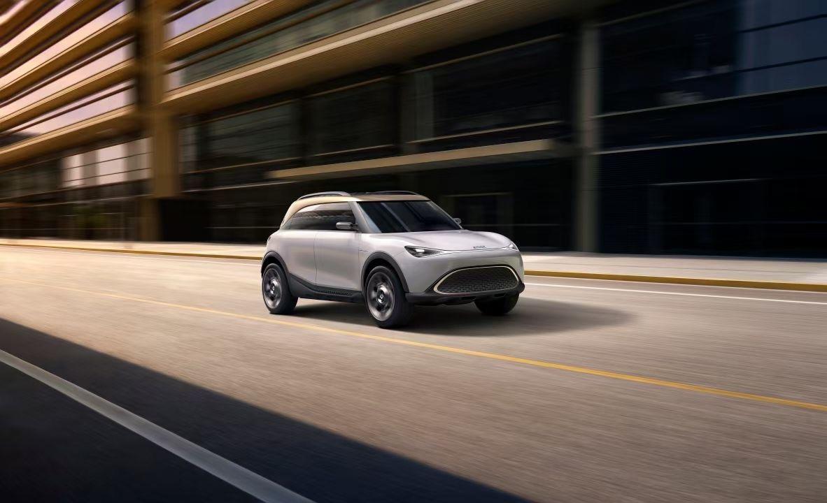 2021 IAA丨smart首款纯电SUV亮相:基于吉利浩瀚SEA架构打造