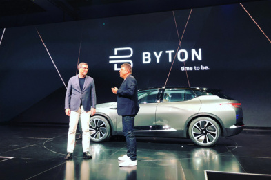 关于拜腾首款量产样车BYTON Concept,这里是它的全部信息