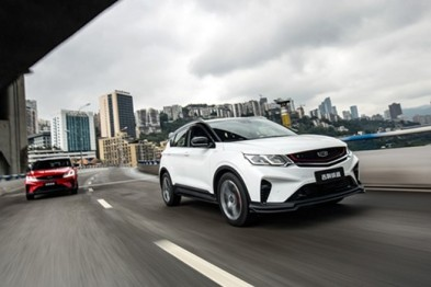 吉利缤越的0-150km/h全速自动跟车,L2自动驾驶的极致演绎?
