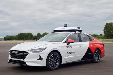 现代摩比斯合作Yandex推首款自动驾驶原型车索纳塔2020
