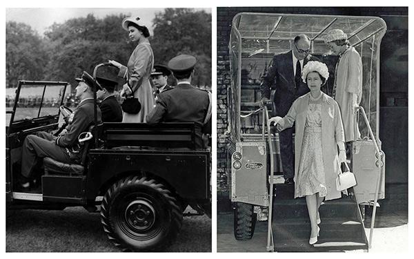路虎卫士与英国王室