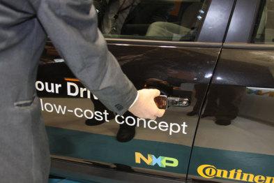 恩智浦开发车用NFC芯片,挥挥手机就能解锁汽车