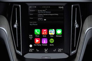 十一月份,你就能在沃尔沃车里用上CarPlay了