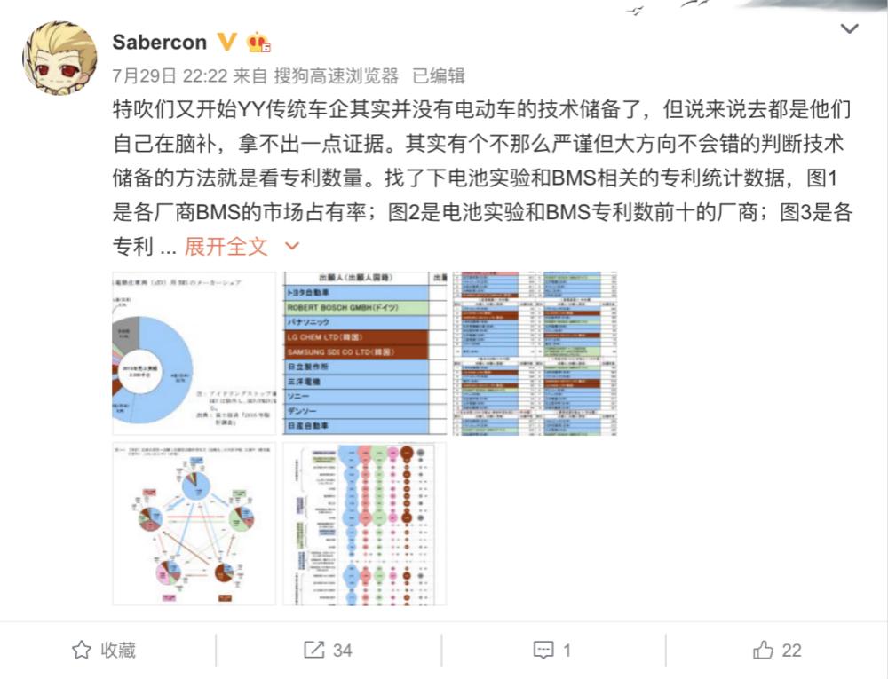 具体内容可以去搜索网友Sabercon的微博