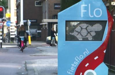 荷兰推出Flo自行车智能交通系统