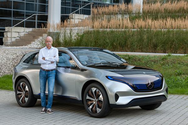奔驰Generation EQ纯电动概念车