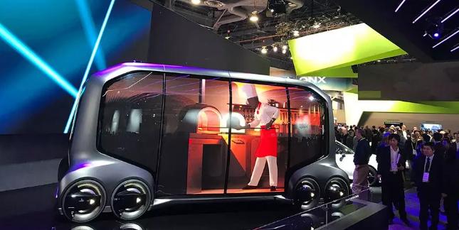 Toyota e-Palette多功能车
