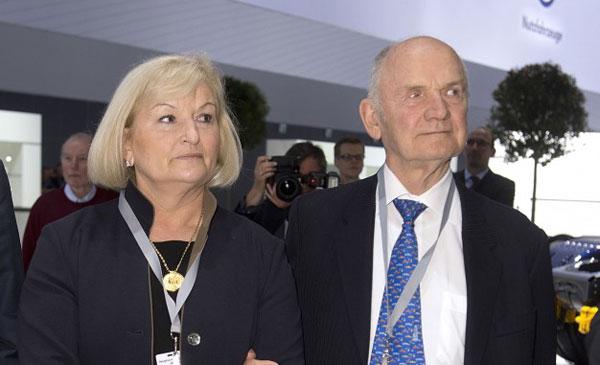 费迪南德·皮耶希和他的妻子